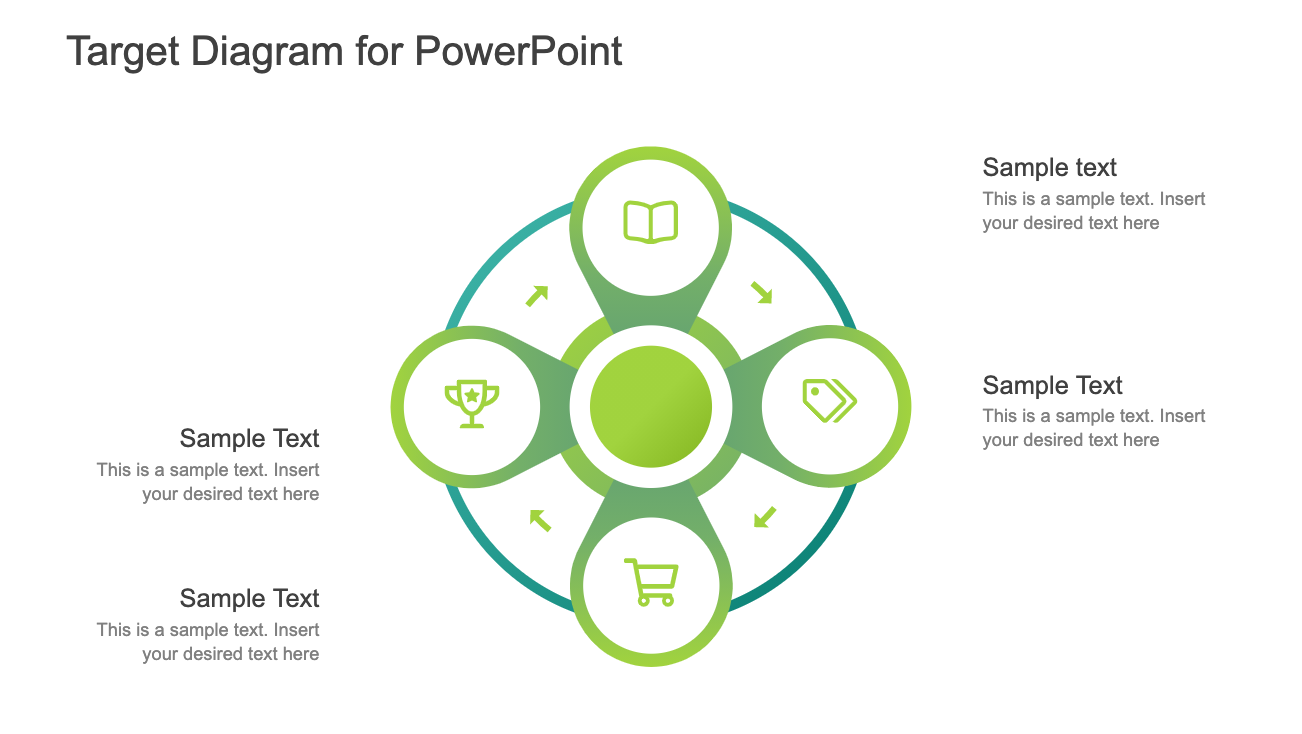 Target Diagram for PowerPoint